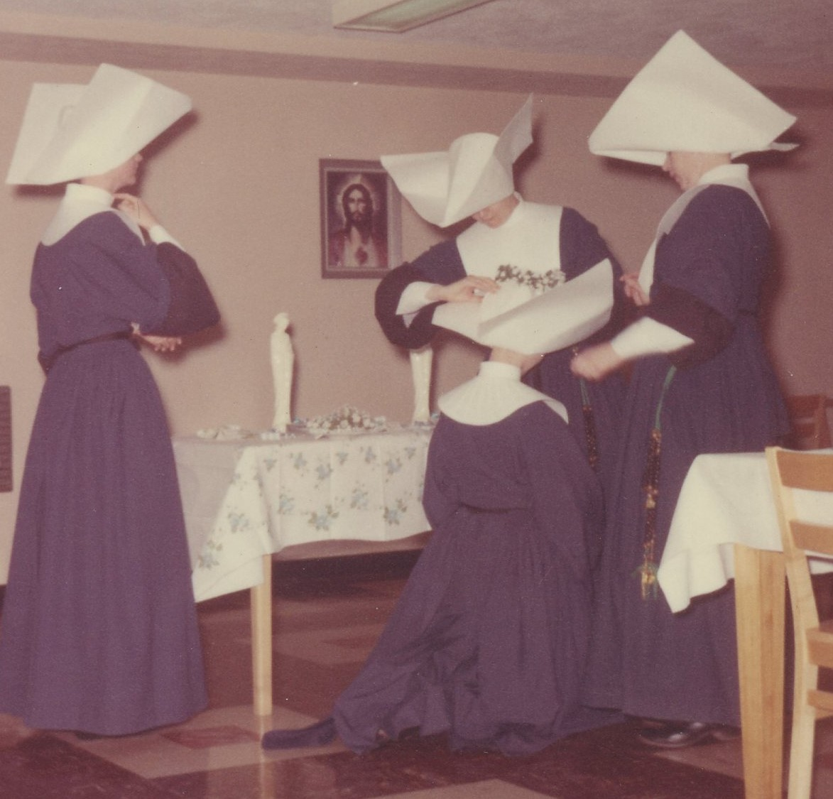 Vow Day Celebration - St. Catherine's Residence, Youngtown, OH - 1963 (2)